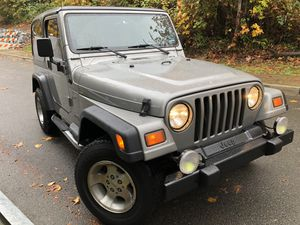 2000 Jeep Wrangler Tj 4.0 5 Speed Manual for Sale in Lynnwood, WA