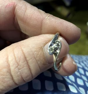 14k White Gold w/ diamond. Promise Ring for Sale in Princeton, WV