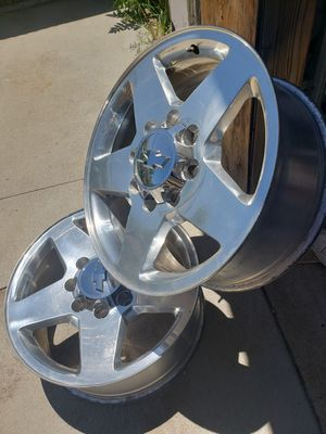 Chevy rims 8 holes for Sale in Denver, CO