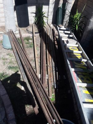 Barn door and gate rail for Sale in Devore Heights, CA