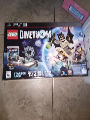 Lego dimensions for ps3 for Sale in Los Angeles, CA