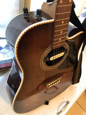 Ericsson electric guitar with belt for Sale in Rockville, MD