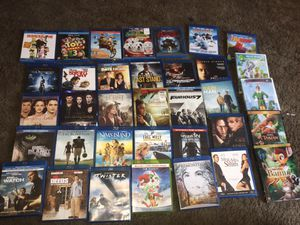31 blue ray movies & 4 dvd movies (all $45 dollars) for Sale in Monterey Park, CA