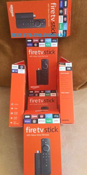 Loaded / 3rd Gen Amazon Fire TV stick for Sale in Ellenwood, GA