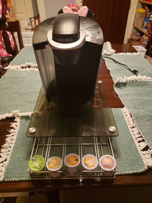 Keurig with stand/k-cup holder for Sale in Homestead, PA