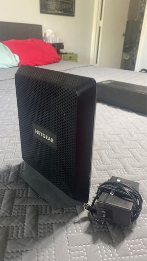 NETGEAR AC1900 Wireless Router And Modem for Sale in Delray Beach, FL