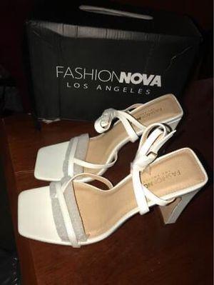 BRAND NEW Fashion Nova White Heels for Sale in Gaithersburg, MD