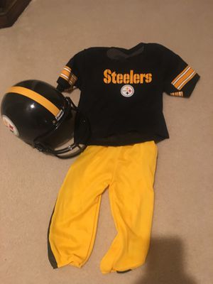 Little boys Steelers football uniform for Sale in Sterling, VA