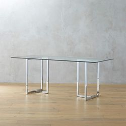 Glass Dining Table for Sale in Seattle,  WA