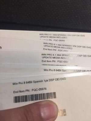 New unused Windows product key for Sale in Sacramento, CA
