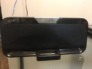 iLive Stereo Speaker System with iPod Dock (Black) for Sale in Chicago, IL
