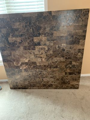 Marble square kitchen table . for Sale in Romulus, MI