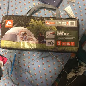 3-person Dome Tent for Sale in Bellevue, WA