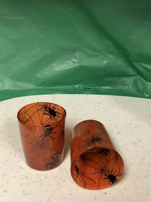 Rare spiders shot glasses by hot topic for Sale in Dallas, TX