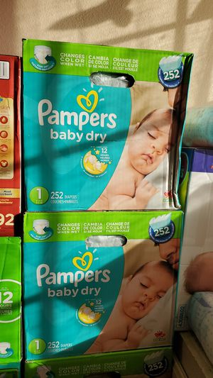 Pampers baby dry $35 price is Firm for Sale in Perris, CA