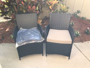 Outdoor Patio Chairs $50 a pc brand new fully assembled for Sale in Port St. Lucie, FL