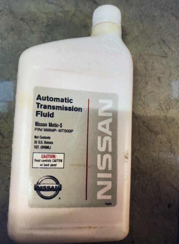 Nissan Matic-S OEM transmission fluid