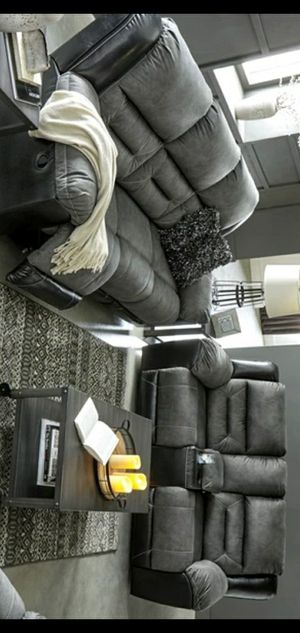 Best price SPECIAL] Earhart Slate Reclining Living Room Set for Sale in Houston, TX