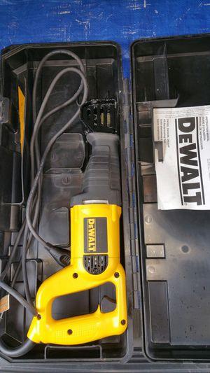 $75. Dewalt sawzall for Sale in Evergreen, CO