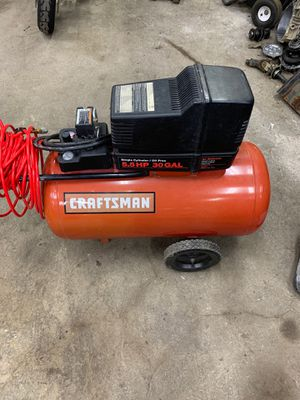 Craftsman air compressor for Sale in Greensburg, PA