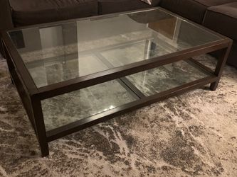 Pottery Barn Glass Coffe Table And Matching Nesting End Tables for Sale in San Diego,  CA