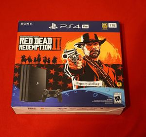 PS4 pro red dead redemption 2 bundle for Sale in Miami, FL