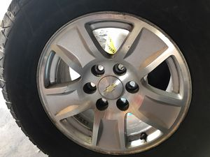 Chevy rims 6 lug 17 inch stocks for Sale in Los Angeles, CA