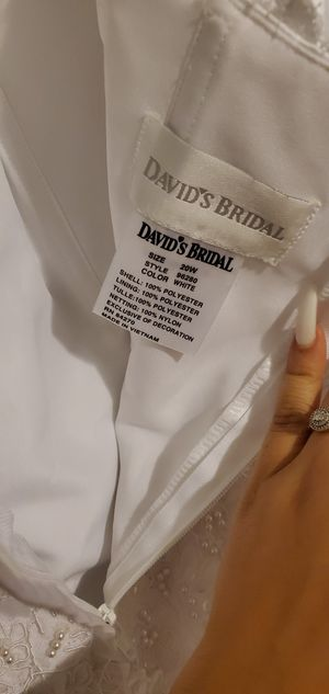 Wedding Dress Size 20 for Sale in Conyers, GA