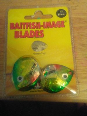 Northland fishing tackle bait fish image blades for Sale in Las Vegas, NV