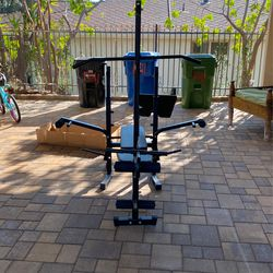 Multifunctional Weight And Exercise Machine (bench Press, Leg Press, Pull Down Bar, Bicep...) for Sale in Los Angeles,  CA