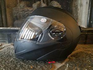 Yescom Full Face Flip up Modular Motorcycle Helmet DOT Approved Dual... for Sale in Grayson, GA