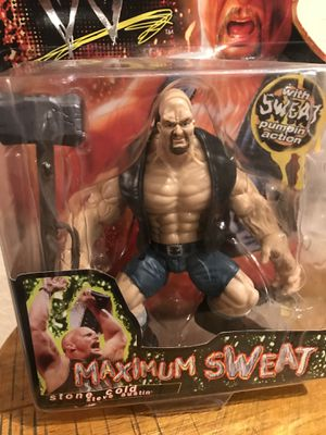 STONE COLD Action Figure(20yrs old)!!! for Sale in Houston, TX