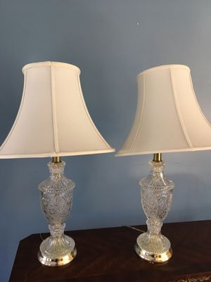 Two tables lamps for Sale in Falls Church, VA