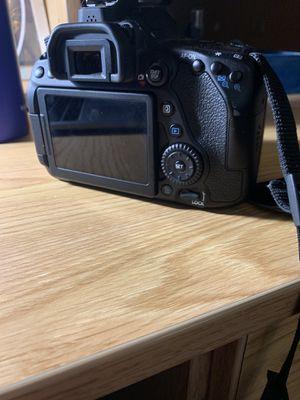 Canon 80d camera for Sale in San Antonio, TX