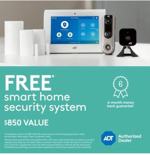 ADT Smart Security-Free doorbell camera for Sale in Perris, CA