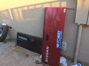 Nissan hard body pick up truck. Tailgates. Other parts for Sale in Las Vegas, NV