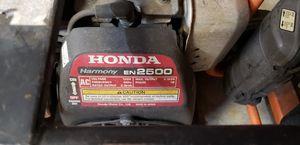 Honda EN2500 gas generator for Sale in Tampa, FL