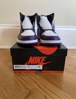 Jordan 1 Court Purple for Sale in Arlington, VA