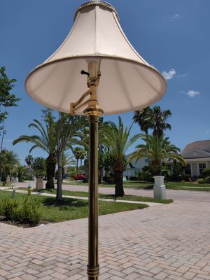 Floor lamp $50 for Sale in Tampa, FL