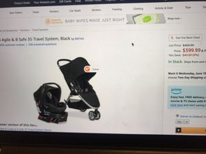 Britax Car Seat, Booster and Travel System Black for Sale in Oshkosh, WI