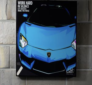 Motivational Exotic Supercar Art Work for Sale in La Habra Heights, CA