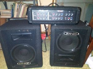 Crate pro audio full set for Sale in Beech Grove, IN