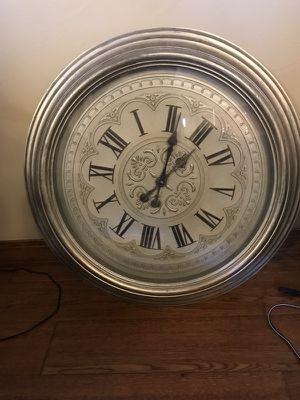 Battery operated clock for Sale in Bozeman, MT