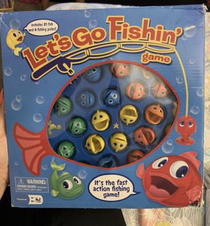 Lets go fishing game for Sale in Monrovia, CA