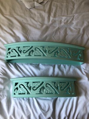Teal wall shelves for Sale in OR, US