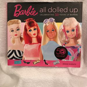 50 Th Anniversary Barbie All Dolled Up Book for Sale in Clermont, FL