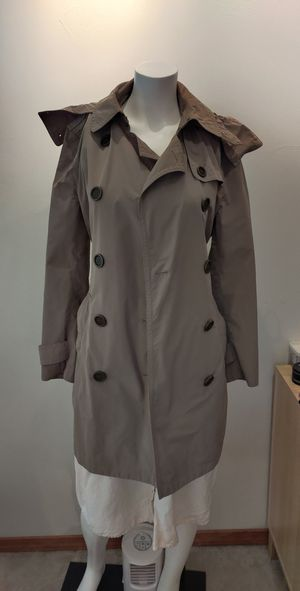 Burberry Rain Coat with hoodie for Sale in Seattle, WA