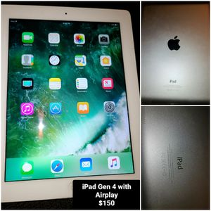 iPad Generation 4 Plus Airplay for Sale in Independence, KS