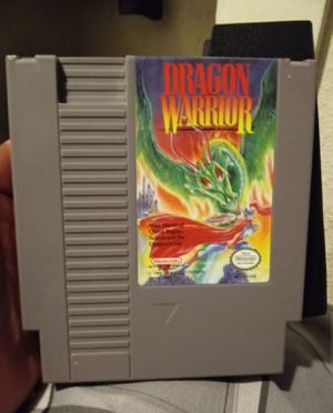 Dragon warrior game make me a offer for Sale in Riverside, CA
