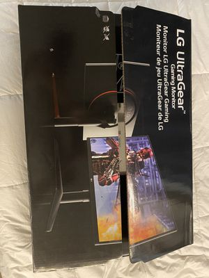 LG 27inch 240hz gaming monitor for Sale in Spring, TX